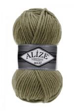 Пряжа для вязания Alize Superlana Maxi (Ализе Суперлана Макси) Цвет 345 хаки