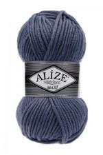 Пряжа для вязания Alize Superlana Maxi (Ализе Суперлана Макси) Цвет 381 морская волна