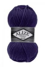 Пряжа для вязания Alize Superlana Maxi (Ализе Суперлана Макси) Цвет 388 пурпурный