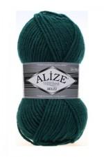 Пряжа для вязания Alize Superlana Maxi (Ализе Суперлана Макси) Цвет 426 темно зеленый