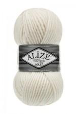 Пряжа для вязания Alize Superlana Maxi (Ализе Суперлана Макси) Цвет 450 жемчужный