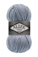Пряжа для вязания Alize Superlana Maxi (Ализе Суперлана Макси) Цвет 480 светло голубой