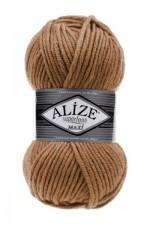 Пряжа для вязания Alize Superlana Maxi (Ализе Суперлана Макси) Цвет 499 бежевый