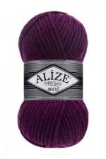 Пряжа для вязания Alize Superlana Maxi (Ализе Суперлана Макси) Цвет 50 фуксия