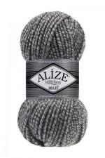 Пряжа для вязания Alize Superlana Maxi (Ализе Суперлана Макси) Цвет 663 серый меланж