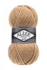 Пряжа для вязания Alize Superlana Maxi (Ализе Суперлана Макси) Цвет 95 карамель