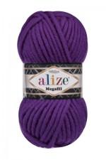 Пряжа для вязания Alize Superlana Megafil (Ализе Суперлана Мегафил) Цвет 111 фиолетовый