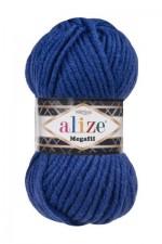 Пряжа для вязания Alize Superlana Megafil (Ализе Суперлана Мегафил) Цвет 141 василек