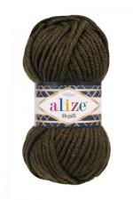 Пряжа для вязания Alize Superlana Megafil (Ализе Суперлана Мегафил) Цвет 241 темно зеленый