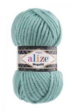 Пряжа для вязания Alize Superlana Megafil (Ализе Суперлана Мегафил) Цвет 386 лазурный