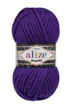 Пряжа для вязания Alize Superlana Megafil (Ализе Суперлана Мегафил) Цвет 388 пурпурный