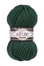 Пряжа для вязания Alize Superlana Megafil (Ализе Суперлана Мегафил) Цвет 426 изумруд