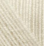 Пряжа для вязания Alize Superlana Midi (Ализе Суперлана Миди) Цвет 599 слоновая кость