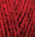 Alize Superlana Midi Цвет 802 красный жаспе