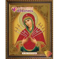Алмазная живопись АЖ-5011 Икона Семистрельная