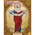 Алмазная живопись АЖ-5021 Икона Покров Пресвятой Богородицы