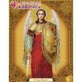 Алмазная живопись АЖ-5026 Икона Архангел Михаил