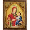 Алмазная живопись АЖ-5038 Икона Иверская Богородица
