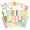 "American Crafts 370654 Набор бумаги ""Citrus Bliss"""