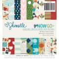 "American Crafts 375269 Набор бумаги ""Go Now Go"""