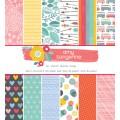 "American Crafts 376221 Набор бумаги ""Oh Happy Life"""