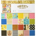 """American Crafts 400773 Набор бумаги """"Party Me Hearty"""""""