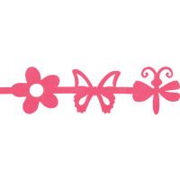 Annet JFC-01 Лента из фетра Annet JFC-01 1 метр F145 ярко-розовый