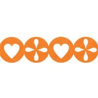 Annet JFC-01 Лента из фетра Annet JFC-01 1 метр H051 оранжевый