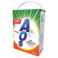 AOS 519-4 Стиральный порошок автомат 4 кг AOS, для белого белья, 519-4