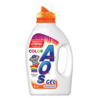 AOS 634-3 Средство для стирки жидкое автомат 1,3 л AOS Color, гель-концентрат, 634-3
