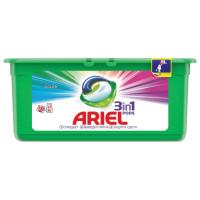 ARIEL 1001920 Средство для стирки в капсулах 30 шт. по 27 г ARIEL (Ариэль) Color, 1001920