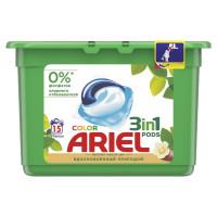 "ARIEL 8001090993212 Средство для стирки в капсулах 15 шт. ARIEL (Ариэль) ""Масло Ши"", 8001090993212"