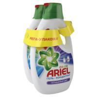 """ARIEL 8001841031187 Средство для стирки жидкое автомат 1,95 + 1,95 л ARIEL (Ариэль) """"Color"""", гель, концентрат, 8001841031187"""