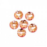 Астра 03 св.розовый Стразы пришивные, акриловые, 8мм, 20шт/упак (круглые) Астра 03 св.розовый
