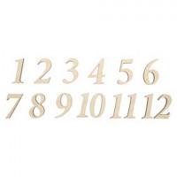 Астра 508081 Деревянная заготовка «Астра»  L-1060 Цифры 1-12   3 см,