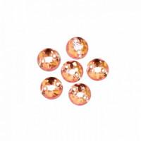 Астра 643 Стразы пришивные, акриловые, 6,5мм, 25шт/упак (круглые) Астра 03 св.розовый