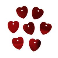 Астра 7700473-00011 Пайетки 'сердечки', 10*10 мм, упак./10 гр., 'Астра' (3 красный)