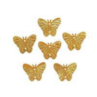 Астра 7700479-00006 Пайетки 'бабочки', 18*23 мм, упак./10 гр., 'Астра' (91 желто-лимонный)
