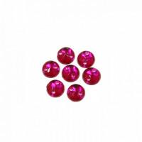 Астра 7701643 Стразы пришивные, акриловые (круглые), 38 рубин