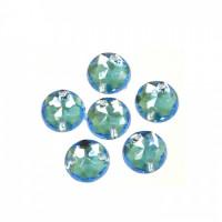 Астра 7701644 Стразы пришивные, акриловые,  (круглые) , 32 голубой