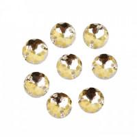 Астра 7701644 Стразы пришивные, акриловые,  (круглые) ,01 прозрачный