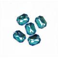 Астра 7701652 Стразы пришивные, акриловые (прямоугольные),32 голубой