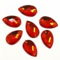 Астра 7701655 Стразы пришивные, акриловые,  (капля) ,06  красный