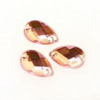 Астра 7701655 Стразы пришивные, акриловые, 03 св.розовый