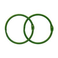 Астра 7718335-00002 Кольца для альбомов 50мм., 2шт/упак., Астра (ARS2110 зеленый)