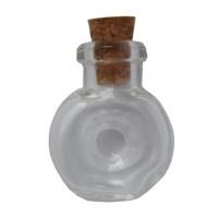 Астра 7720908 Стеклянная бутылочка с пробкой 'Хенесси'