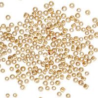 Астра 7721902-00002 Бисер Астра 6/0, 15г (1106 т.золотой/глянц.покрытие)