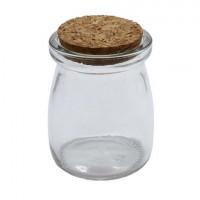 Астра 7729379 (AR1346) Бутылочка стеклянная с пробковой крышечкой, 2шт/упак