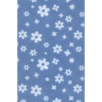 """Астра 83 Фетр листовой Астра """"Цветочки"""" 7714025, 1 мм, 20*30 см, 10 листов. Цвет: YF 683 голубой"""