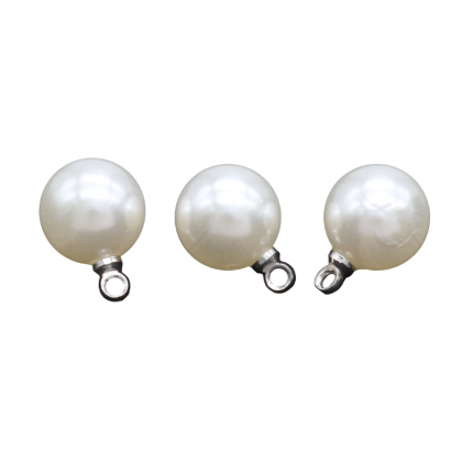 Бусина с петелькой 'Астра' 7727708  8 мм, 10шт/упак., 4AR298 ( серебро) (арт. Бусина с петелькой)